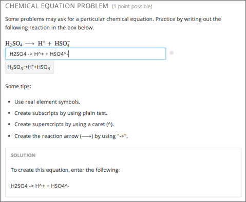 106 Chemical Equation Problem Building And Running An Edx Course
