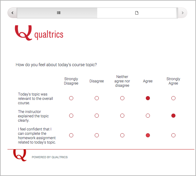 10.39. Qualtrics Survey Tool — Building and Running an edX Course ...