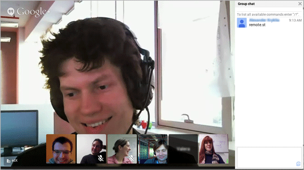 8 19  Google Instant Hangout Tool — Building and Running an Open edX