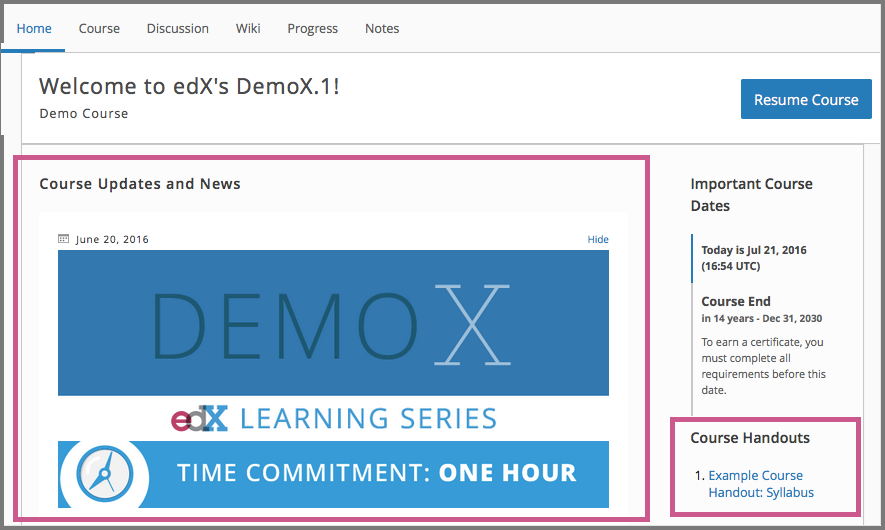 10.2. Adding Course Updates and Handouts — Building and Running an ...