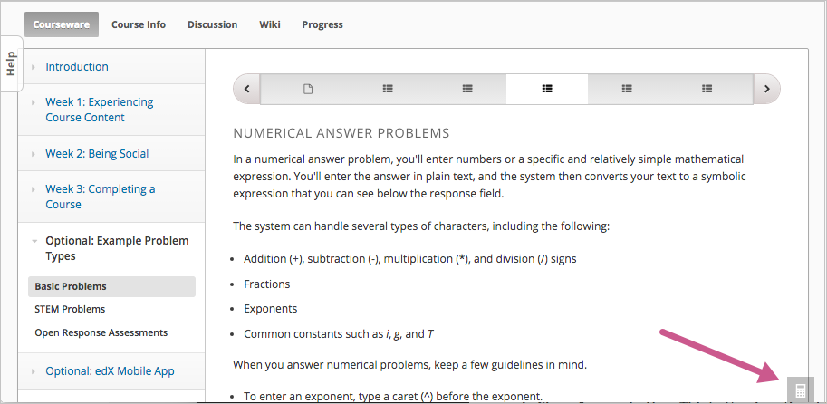 12 Entering Mathematical And Scientific Expressions Open Edx