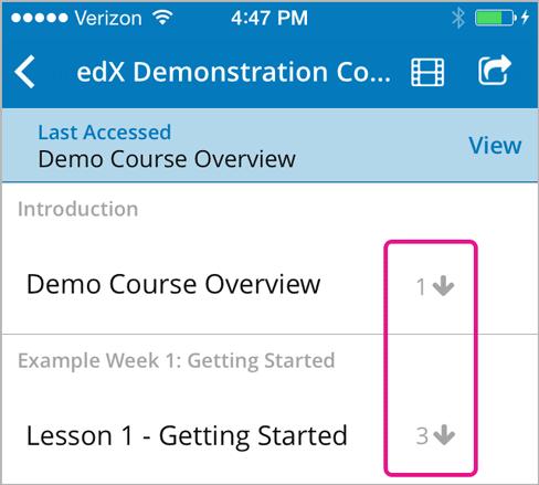 10  The edX Mobile App — Open edX Learner's Guide documentation