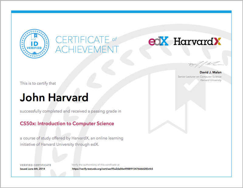 9 Certificates Open Edx Learners Guide Cypress Release